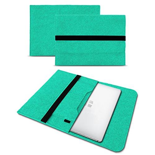 Sleeve Hülle für Odys Winbook 13 Tasche Filz Notebook Cover 13,3 Laptop Case , Farbe:Mint