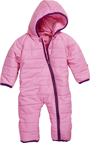 Schnizler Unisex Baby Schneeanzug Stepp - Overall, Gr. 68, Rosa (Pink 18)