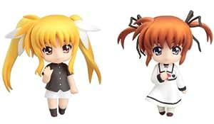 Good Smile Company - FIGGSC151 - Figurine - Magical Lyrical Nanoha - Nanoha & Fate Nendoroid