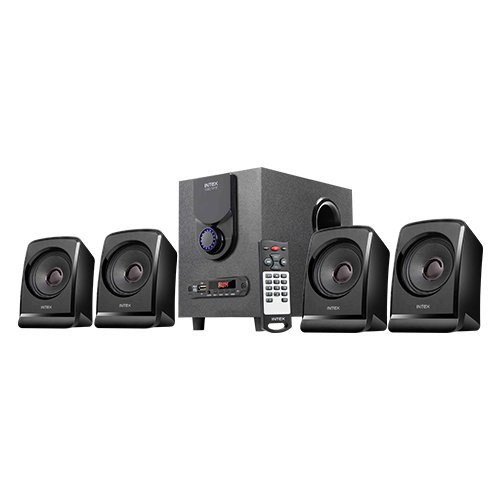 Intex IT-2622 TUF BT Economical Range 4.1 Channel Multimedia Speakers (Black)