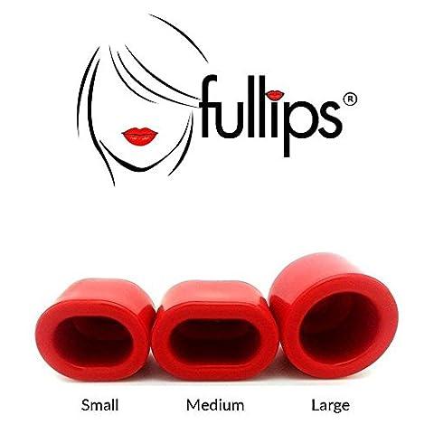Pompe à lèvre / succion, repulpeur, lèvres pulpeuses de marque générique (style Fullips) - Lot de 3 tailles small medium large