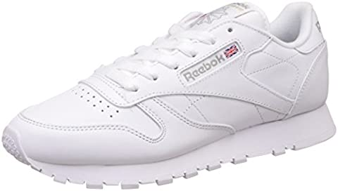 Reebok Classic Damen Sneakers, Weiß (Int-White), 38 EU / 5 UK / 7.5 US