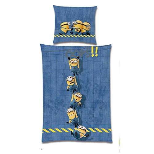 Ropa de cuna Los Minions, amarillo/azul