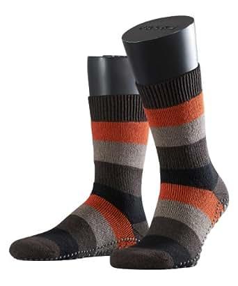 FALKE Herren Socke 16595 Homepads SO, Gr. 35/38 Braun (dark brown 5450)