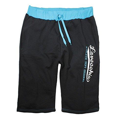 Lavecchia - Pantalón corto - para hombre Black-Türkis XXXXXX-Large