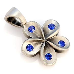 Bico Petals Damen Blume Swarovski Kristallanhänger (CR4) – Reine Weiblichkeit