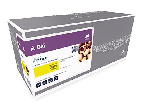 Preisvergleich Produktbild Astar AS13537 Toner kompatibel zu OKI C3200 42804537, 3000 Seiten, gelb