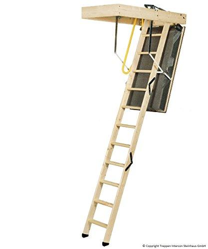 Minka Sliding Timber Loft Ladder Polar Thermal Top Class 4Incl. Accessories Universal Load 0.40Airtight