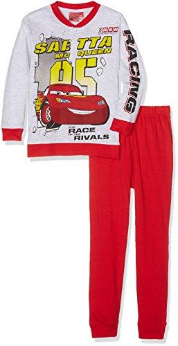 Walt Disney Jungen Zweiteiliger Schlafanzug 29902SAZ, Rot, 122 cm