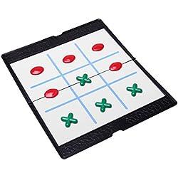 Aquamarine Games - Tres en Raya Magnético, juego (Compudid Tresmag)