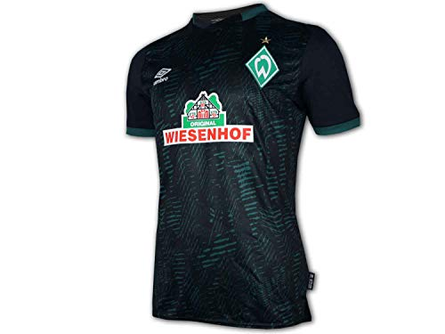 UMBRO Herren Werder Bremen 19/20 3rd Fußballtrikot schwarz L