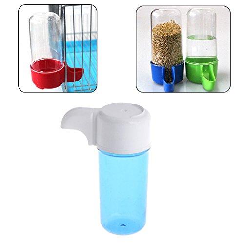 Autone Futterstation für Vögel, Kunststoff, automatischer Wasserspender in Vogelkäfig, 1 Stück