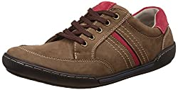 Action Shoes Mens Coffee Sneakers - 9 UK/India (43 EU)(NL-2112)