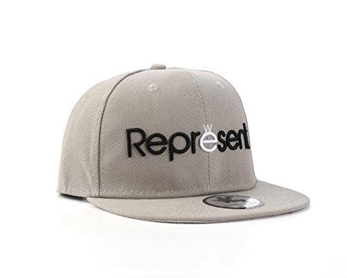 Underground Kulture Représentent Gris Casquette Réglable (Represent Grey Snapback Cap)