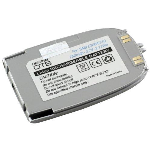 Akku, Ersatzakku mit 750mAh !!! für Samsung SGH-E300 / SGH-E310 mit Hohe Kapazität und ohne Memory-Effekt Li-Ion PDA-Punkt