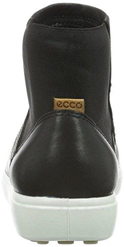 ECCO Soft 7 Ladies, Scarpe da Ginnastica Donna Nero(Black/Lion 59075)
