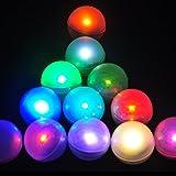 Party hochzeitsdekoration batteriebetriebene kleine leuchtenden LED magische Bälle lichterketten (Color Changing RGB)