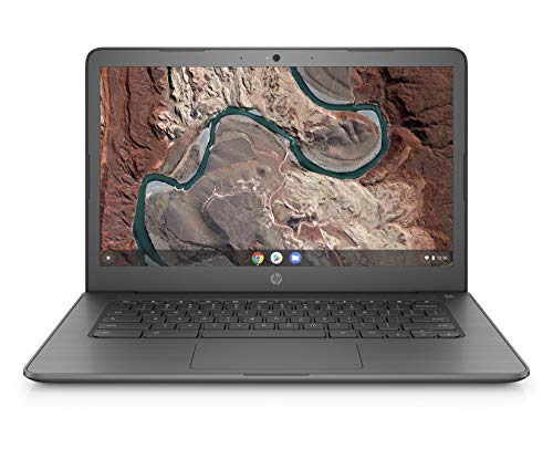 HP Chromebook 14-db0003ng 35,5 cm (14 Zoll Full HD) Notebook (AMD A6-9220 APU, 4 GB DDR4, 64 GB eMMC, AMD Radeon R2, Chrome OS) chalkboard grey (Hp Chromebook Laptop)