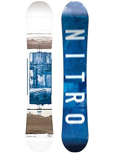 Nitro Snowboards Herren Team Exposure GULLWING`18 Snowboard Grafik 155