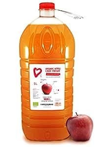 5l living earth vinaigre de cidre de pomme organique 5l avec la m re non filtr non - Mere de vinaigre de cidre ...