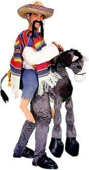 Unisex mexikanischen Rider Fancy Kleid Erwachsene Hey Amigo Esel Bandit Western Schritt in (Amigo Hey Kostüme)
