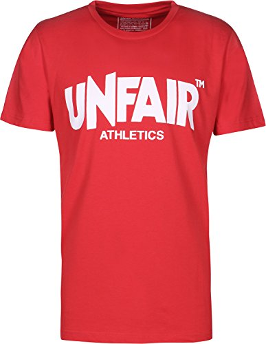 Unfair Athletics T-Shirt Classic Label Red