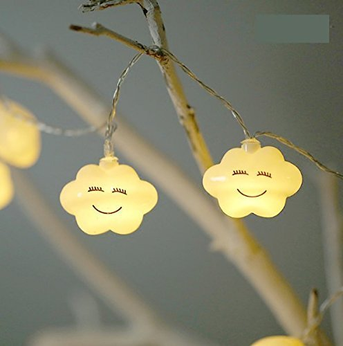 UChic 1,5 m 10LED Creative LED Recargable Smile Nube