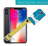 MAGICSIM ELITE pour iPhone XR - Adaptateur Dual SIM