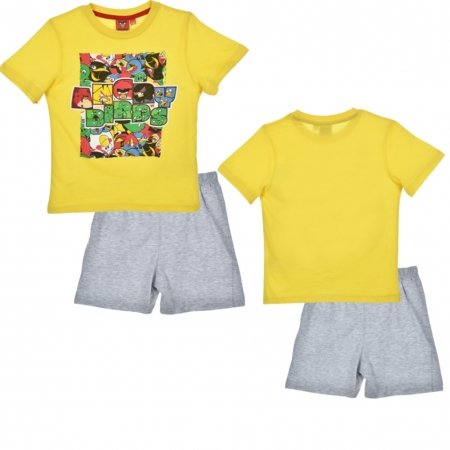 Kinder Angry Birds Pyjama Set / Schlafanzug (Jungen Angry Bird Kostüm)