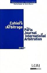 Les Cahiers de l'Arbitrage, N° 2/2010 :