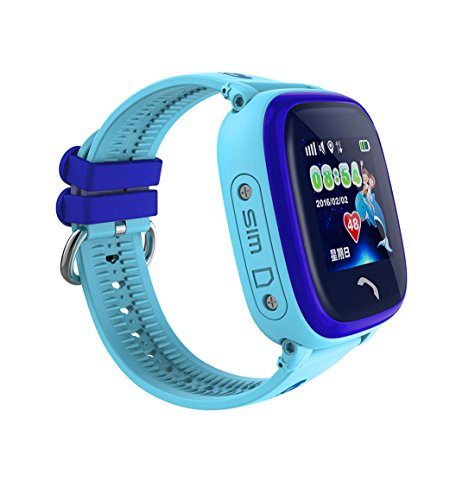 gstek smartwatch bluetooth Bambino Smartwatch IP67 Swim GPS Touch telefono intelligente orologio SOS Chiamata posizione Dispositivo Tracker Bambini sicuro monitor anti-perso