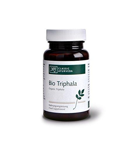 Classic Ayurveda - Bio Triphala Presslinge - 1er Pack (1 x 60g , ca. 120 Tabletten) - BIO