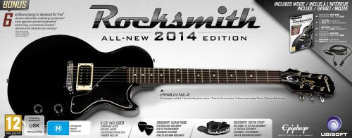 Rocksmith 2014 Edition and Epiphone Les Paul Guitar - Exclusive to Amazon.co.uk (PC DVD)