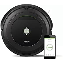 iRobot Roomba 696 Negro aspiradora robotizada wifi - aspiradoras robotizadas (Negro, Alfombra, Suelo