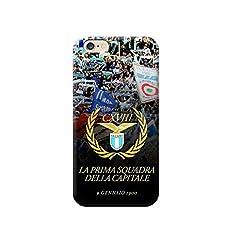Idea Regalo - TheBigStock Cover Custodia per Tutti Modelli Apple iPhone x 8 7 6 6s 5 5s Plus 4 4s 5c TPU - G153 Lazio, iPhone 7