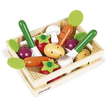 vilac 6149 jouets en bois fruits et l gumes d couper jeux et jouets. Black Bedroom Furniture Sets. Home Design Ideas