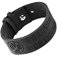 plus gratis Aufkleber forever Dortmund Borussia Dortmund edles Armband Schmuck mit Edelstahlplatte BVB 09