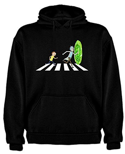 Sudadera de Rick and Morty Divertida Friky Smith Tiny Beatles niños 7