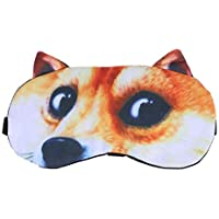 Healifty Schlafmasken Hund Shiba Muster Augenmaske mit Eisbeutel Augenkühlung Maske Augenklappen preisvergleich bei billige-tabletten.eu