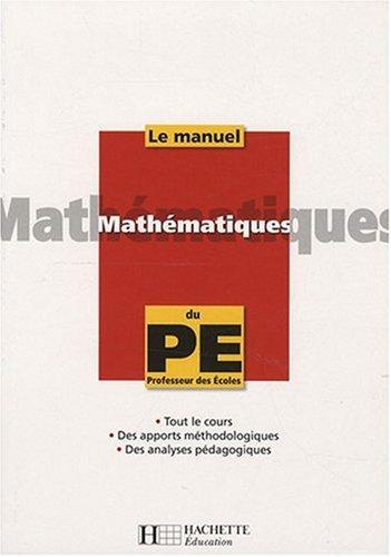 Mathématiques du Professeur des Ecoles par Alain Descaves