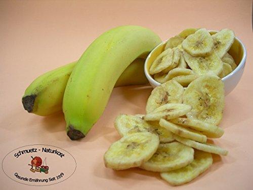 Bananenchips geröstet, ungezuckert und ungeschwefelt 500g von Schmütz-Naturkost, Trockenfrüchte