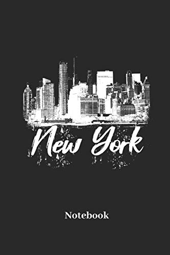 New York Notebook: Lined journal for NYC, big apple and manhattan fans - paperback, diary gift for men, women and children
