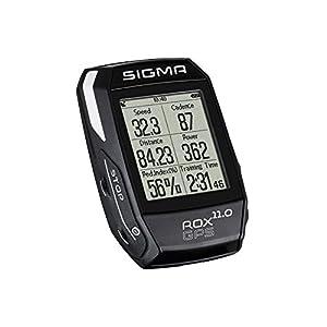 Sigma Sport Rox Gps 11.0 - Set con Ciclocomputador, Color Negro, Talla Unica