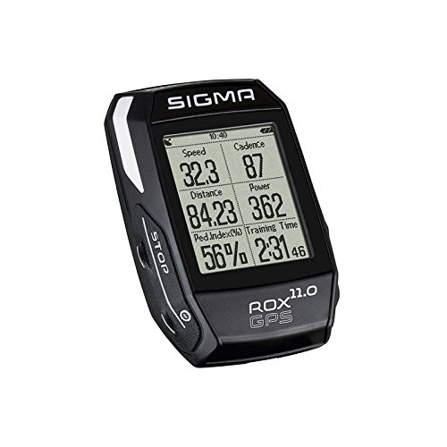 Sigma Sport Fahrrad Computer ROX 11.0 GPS Set black, Track-Navigation, Smart-Connectivity, Strava, Schwarz