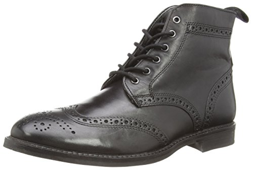 Red Tape Glaven - Botas para hombre, color negro (black), talla 42 EU (8 UK)