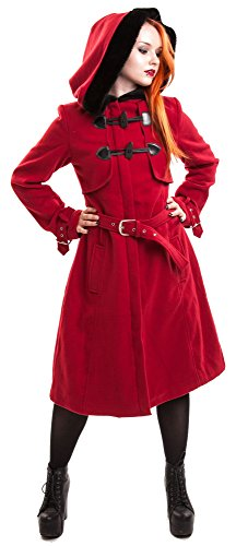 Vixxsin Mantel MOANA COAT Red