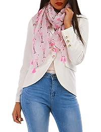 La Modeuse Paréo à imprimé flamants roses et détails scintillants