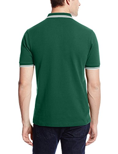 Fred Perry Herren T-Shirt Fp Twin Tipped Shirt Grün (IVY)