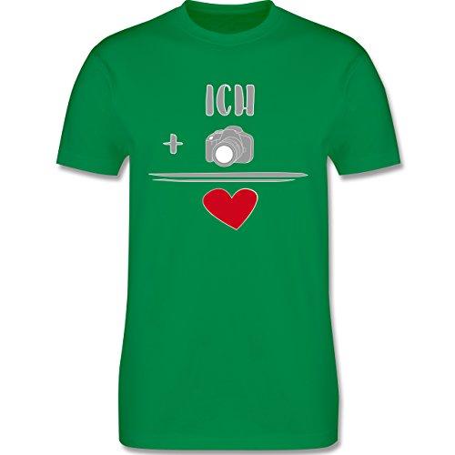 Statement Shirts - Fotografie-Liebe - Herren Premium T-Shirt Grün