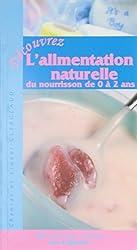 Alimentation naturelle du nourrisson 0 à 2 ans